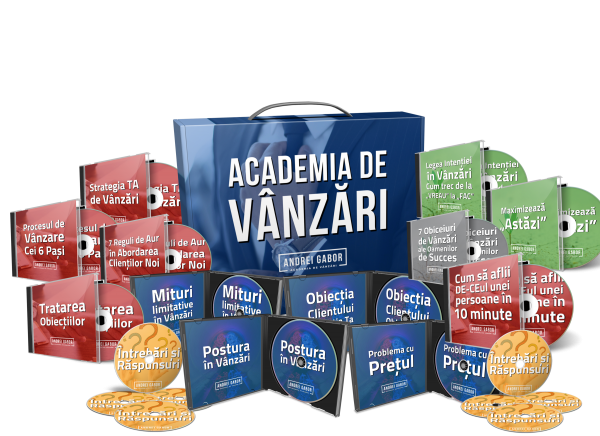 Academia de Vanzari - Produs Digital
