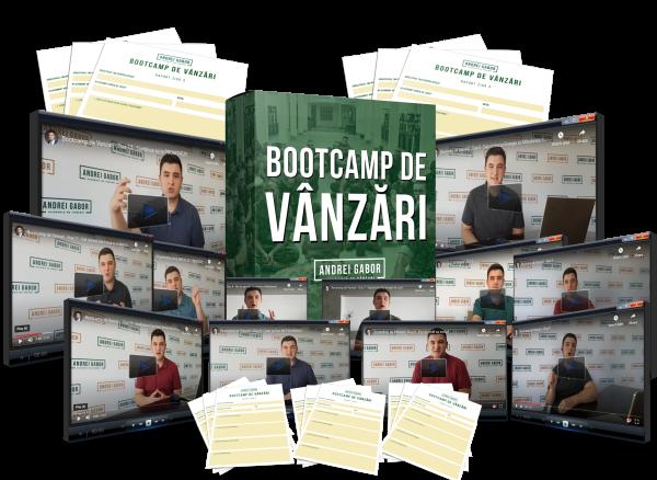 Bootcamp de Vanzari - Produs Digital